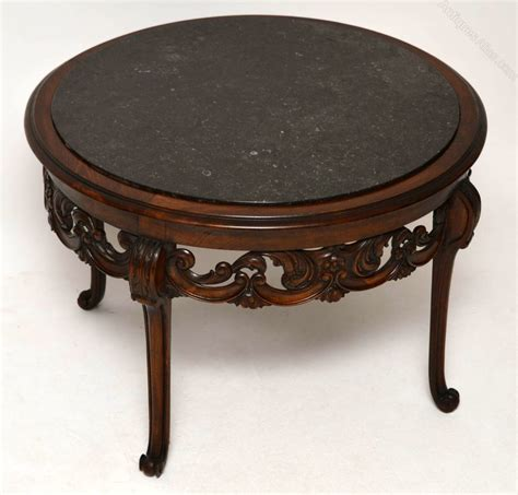 antique marble top coffee table antique marble top walnut coffee table antiques atlas