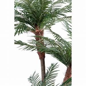 Palmier Artificiel Gifi : palmier artificiel 3 troncs new tf 160 230 cm arbres exotiques reflets nature lyon ~ Teatrodelosmanantiales.com Idées de Décoration