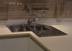 Lavello ad angolo componenti cucina modelli di lavello for Cucina con lavello ad angolo