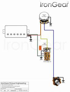 Diagrams For Split Humbuckers 1 Volume 1 Tone