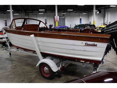 Penn Yan Boats For Sale In Michigan by 1959 Penn Yan Baltic For Sale Classiccars Cc 688356