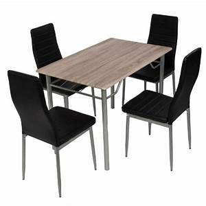 Esstisch Mit 4 Stühlen : esstischgruppe tischgruppe sitzgruppe mit 4 st hlen und esstisch 110 70 cm m bel24 ~ Frokenaadalensverden.com Haus und Dekorationen