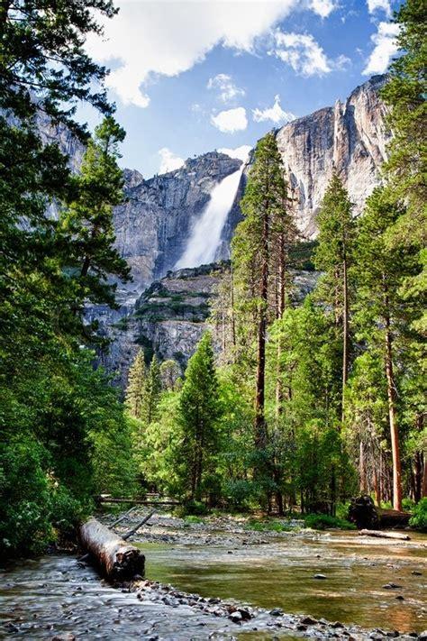 Vernal Falls Mist Trail Yosemite National Park