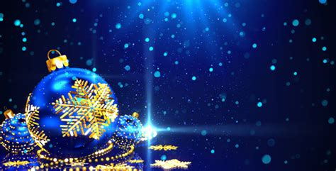blue christmas background   videohive