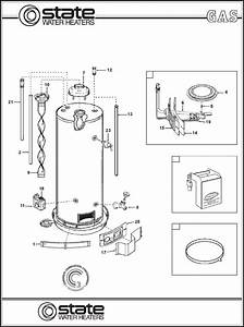 State Industries Electric Heater 50 Hbrs User Guide