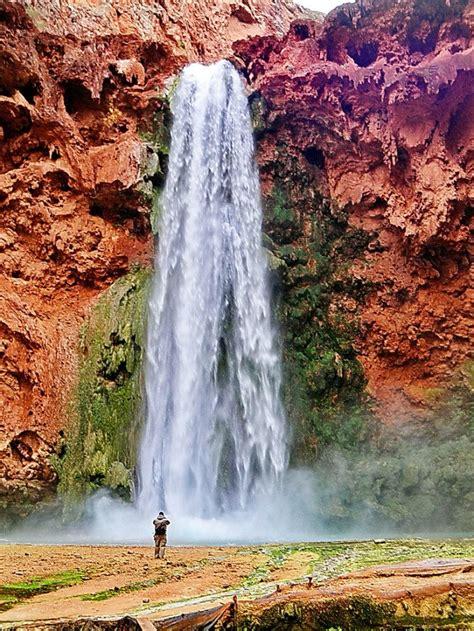 hidden waterfalls  arizona