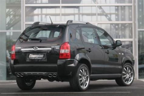 Tucson Modification by Getunt Und Limitiert Hyundai Tucson Chion Speed Heads