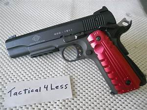 1911 Custom Aluminum Tactical Pistol Grips Colt    For Sale
