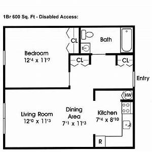 Disabled Access! floor plans 600 sq ft | Home - Floor ...
