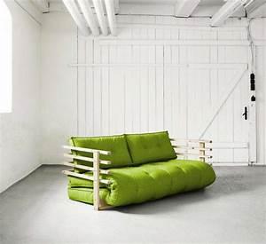 Canapé Convertible Vert : 28 id es de canap convertible ~ Teatrodelosmanantiales.com Idées de Décoration