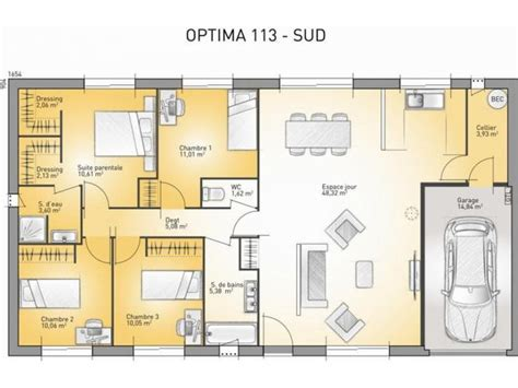 25 best ideas about plan maison 3 chambres on