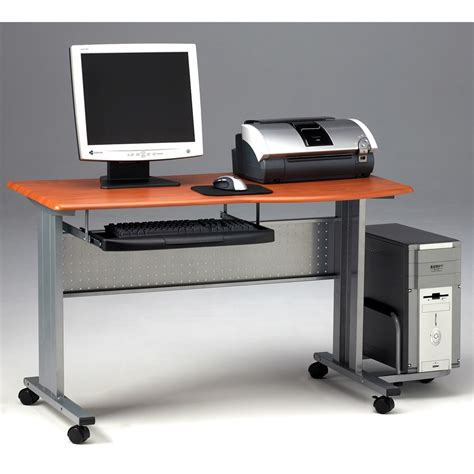 mobile computer desk mobile computer worktable