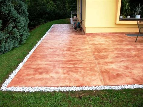 how to plan great concrete patio cost poured concrete