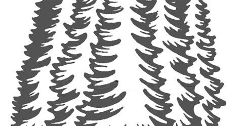gambar mewarnai pohon cemara untuk anak paud dan tk