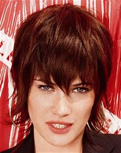 Coupe Longue Femme : coiffure courte frange longue femme cheveux courts sur ~ Dallasstarsshop.com Idées de Décoration