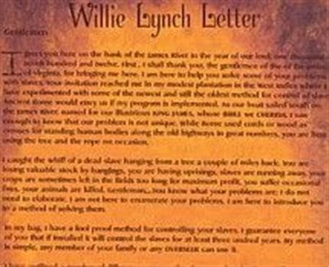 willie lynch letter pdf willie lynch letter the untold history