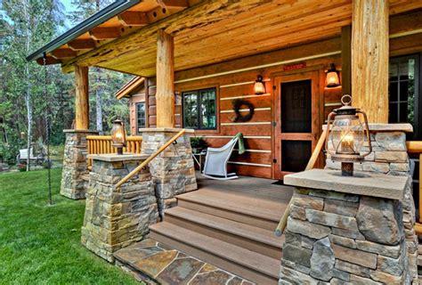 plan  log style house plan   bed  bath