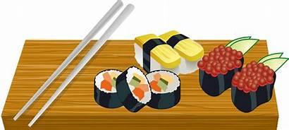 Sushi Clipart Japan Transparent Board Clip Domain