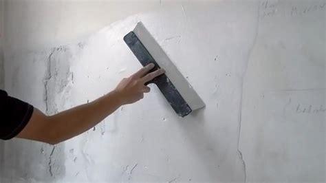 Wand Verputzen, Wand Spachteln