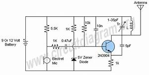 putting a 1k in series with a 5v6 zener does absolutely With 3v fm transmitter circuit