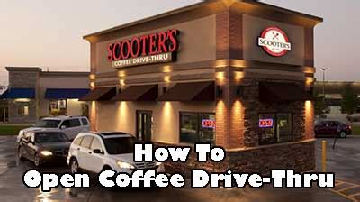 When you become part of esquires coffee, you join a coffee shop franchise with a conscience. Starting Your Own Coffee Drive-Thru