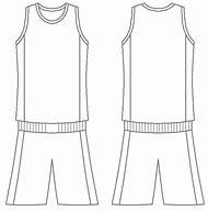 Blank Basketball Jersey Template