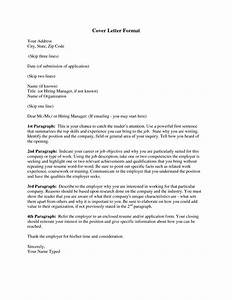 cover letter format for personalizing your cover letter With what goes in a cover letter for a job