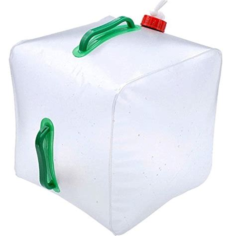 gallon water carrier container bag camping hiking