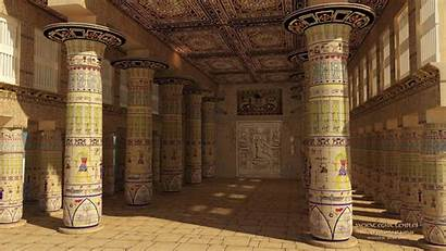 Temple Egypt Ancient Wallpapers Egyptian Pc Inside