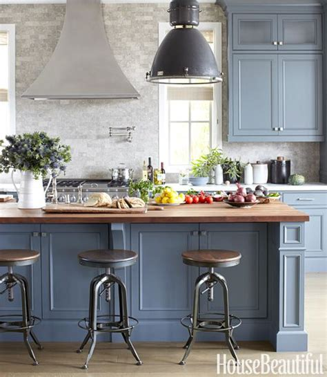 blue color kitchen cabinets 23 gorgeous blue kitchen cabinet ideas 4804