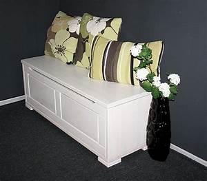 Wäschetruhe Holz Weiß : massivholz truhe 120x45x43cm kiefer sitztruhe holztruhe w schetruhe wei lasiert ~ Indierocktalk.com Haus und Dekorationen
