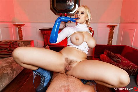 Powergirl Assembly A Xxx Parody Busty Blonde Vr Cosplay