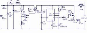 Automatic Night Light Circuit Using Ne555
