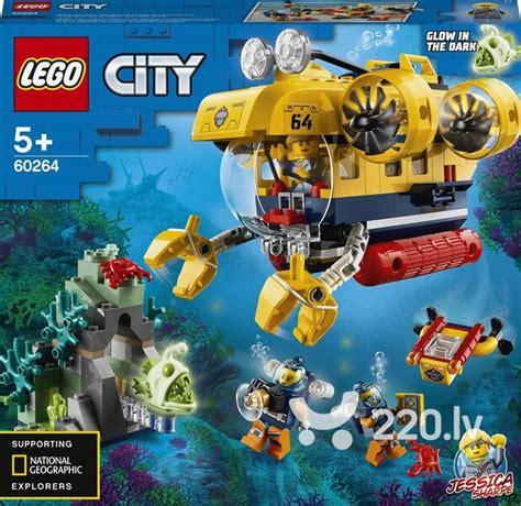 60264 LEGO® City Okeāna izpētes zemūdene cena   220.lv