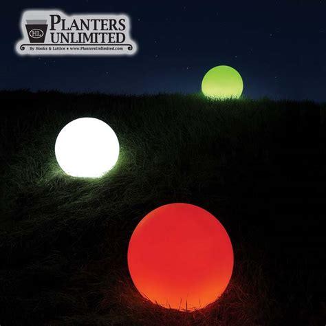 light up spheres illuminated spheres light up sphere polyethylene spheres