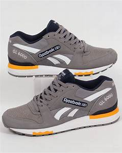 0683b7658390 Reebok Gl 6000. reebok gl 6000 pp trainers grey navy shoes runners ...