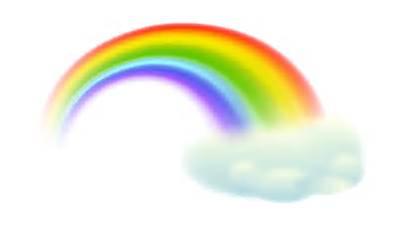 Rainbow Clipart Transparent Clip Clouds Cloud Rainbows