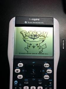 Just put the Pokemon on my calculator - 9GAG
