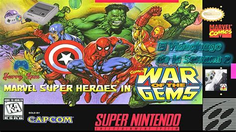 descargar marvel super heroes war   gems snes