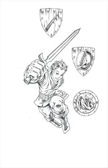 Tom Beast Quest Coloring Page