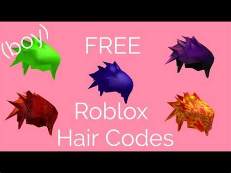 roblox  hair codes roblox  build
