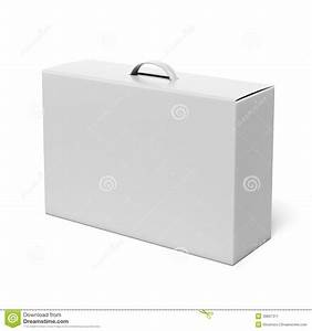 White Box With Handle Stock Illustration  Illustration Of