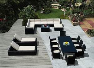 Buy ohana collection pnc1401 14 piece outdoor sectional for Ohana outdoor sectional sofa