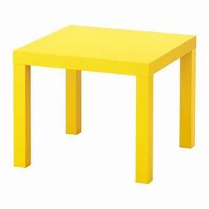 Ikea Table Appoint : lack table d 39 appoint jaune ikea ~ Teatrodelosmanantiales.com Idées de Décoration
