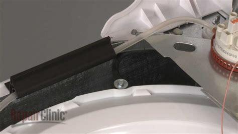 ge top load washer shock dampening strap whx youtube