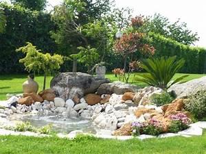 Jardin Paysager Exemple : 71 id es et astuces pour cr er votre propre jardin de rocaille landscaping decoraciones de ~ Melissatoandfro.com Idées de Décoration