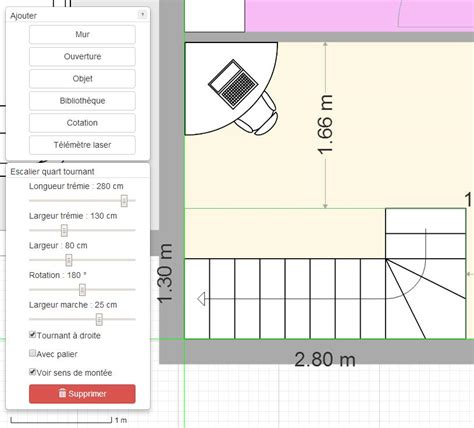 cuisine carré plan de maison et plan d 39 appartement gratuit logiciel