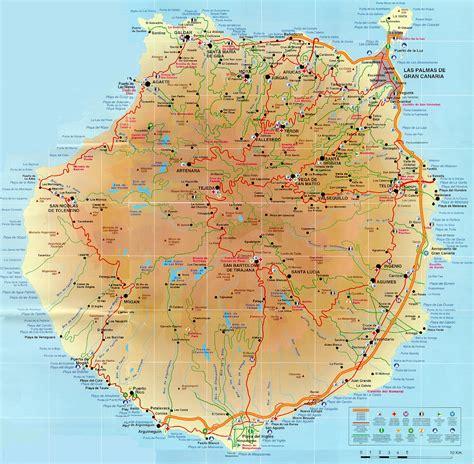 books maps  gran canaria info  gran canaria