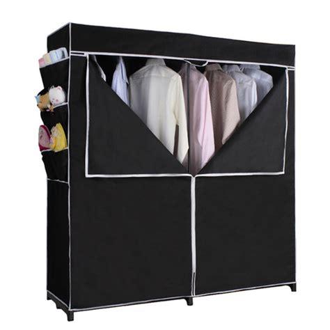 whitmor rod freestanding closet silver black