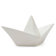 Goodnight Light White Paper Boat Lamp ? Petit Bazaar